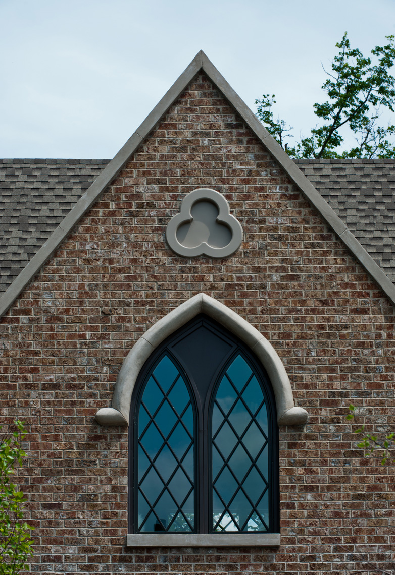 Evans-Brick-Gothic-Window-Detail